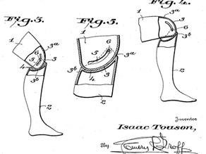 Patentes,  en los inicios de la ortoprotésica del aparato locomotor humano en la Argentina.