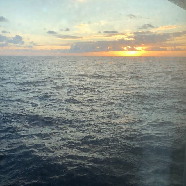#sunset #atlantic #ocean #paradise #inst