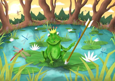 The Frog Princess