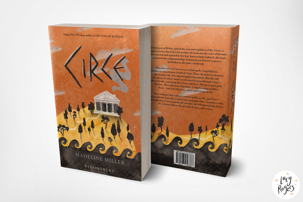 'Circe' Cover Redesign