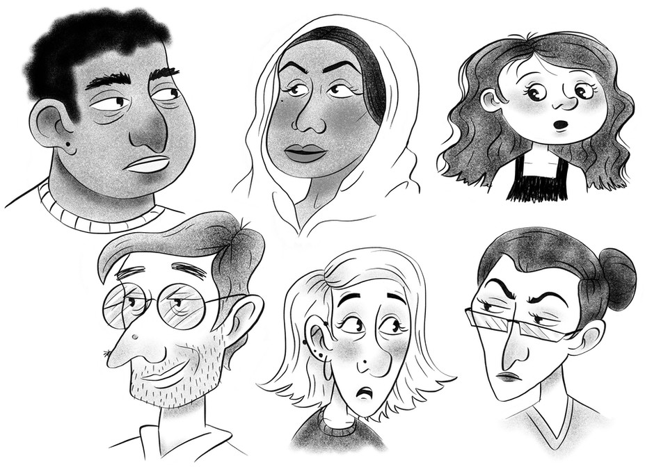 People Character Design