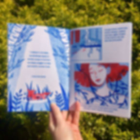 'Little Red Cap' zine