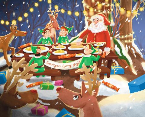 Christmas Curry Night!