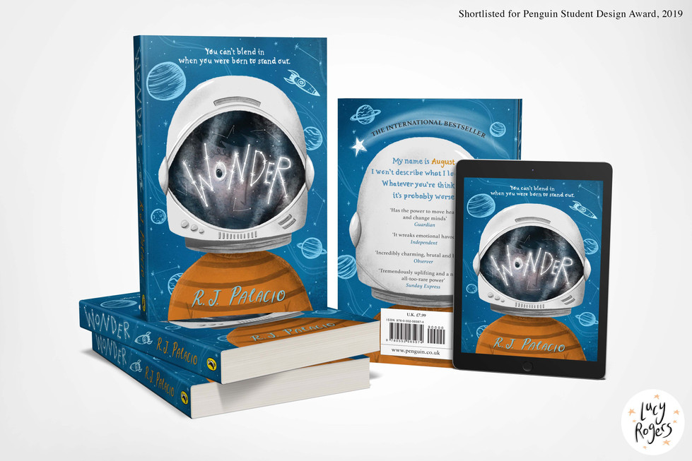 'Wonder' Cover Redesign