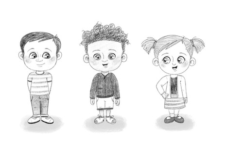 Young Kids Character Design