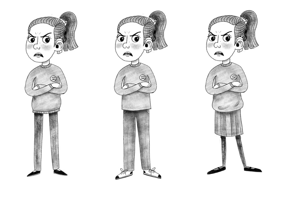 Girl Character Design