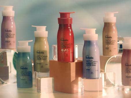 """Natura """"Tododia"""" convida as mulheres a celebrarem seus corpos com as diferentes fragrâncias."""