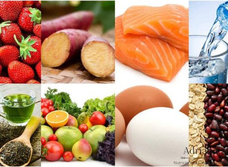 10 alimentos importantes para a saúde ocular.