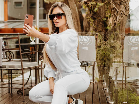 Fernanda Pedrosa faz fashion trip em Gramado - Serra gaúcha.