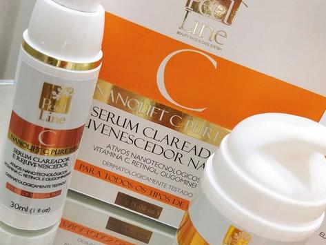 Nanolift C Pure - Vitamina C nanotecnológica com Nano retinol e Oligominerais.