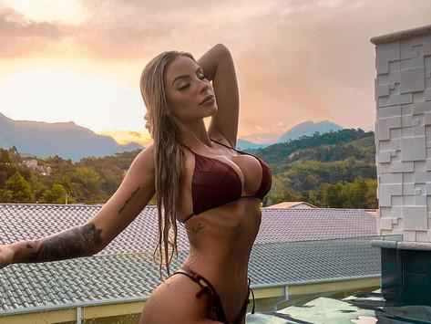 Leticia Longati curti alguns dias de descanso em Paraty - RJ