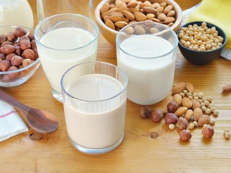 Alternativas ao leite de vaca.