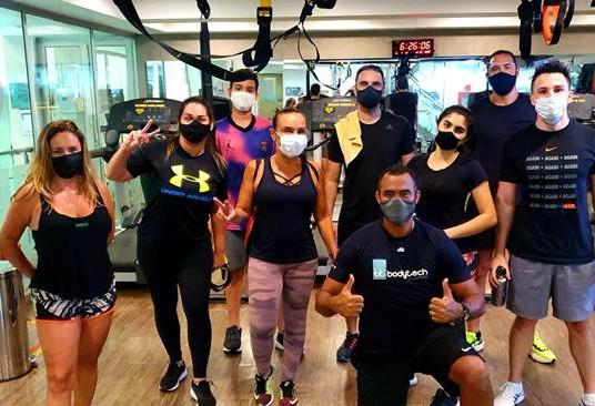 Bodytech de Copacabana promove aula de Cardio Burn no feriadão do dia 07 setembro.