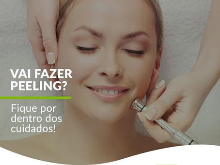 Saiba mais sobre os procedimentos de peeling.