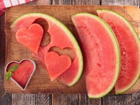 Alimentos que ajudam na hidratação.