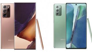 Samsung presenta sus Galaxy Note 20 Y Note 20 Ultra