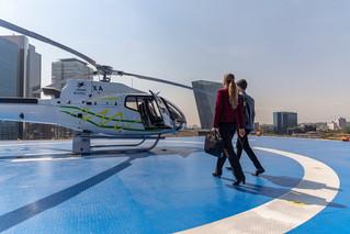 Lanzan Cabify Air, para que viajes en helicóptero por la CDMX