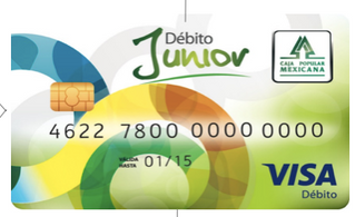 Caja Popular Mexicana presenta una tarjeta de débito para niños
