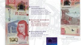 ¡Conoce el nuevo billete de 100 pesos! Llega Sor Juana y la mariposa monarca