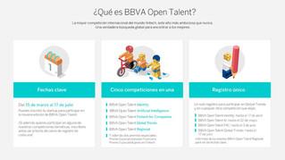 Ya está abierta la convocatoria para el BBVA Open Talent 2017
