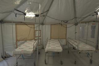 BBVA México dona hospitales de campo para atender a pacientes con Covid-19