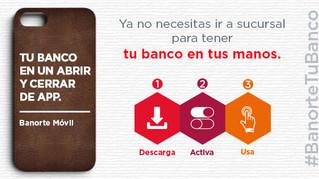 Banorte Móvil, gratis para usuarios de Telcel