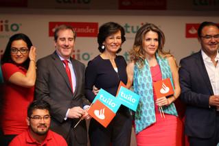 Santander dará microcréditos al sector popular en México