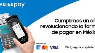 Samsung Pay tiene ya 430,000 usuarios en México