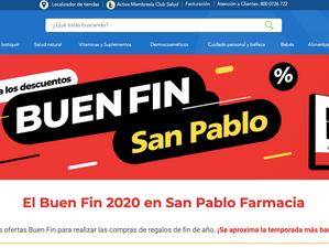 Farmacias San Pablo también le entra a El Buen Fin