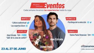 Danna Paola protagonizará concierto digital de Citibanamex por festividades del orgullo LGBT