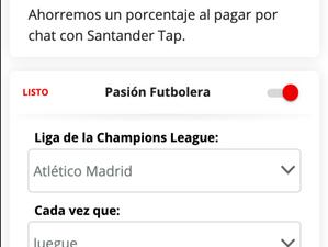 Clientes de Santander México podrán ahorrar automáticamente con su equipo favorito de la UEFA