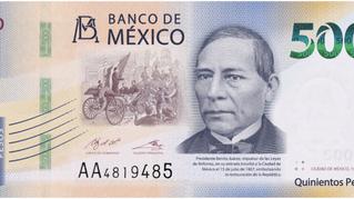 Diego y Frida le hacen lo que el viento a Juárez… llega Benito al billete de $500