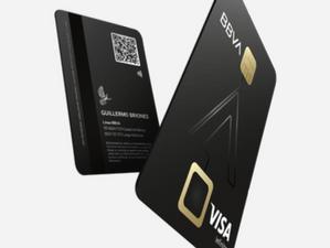 Sin datos visibles, sustentables, contactless y con biométricos, así son las nuevas tarjetas de BBVA