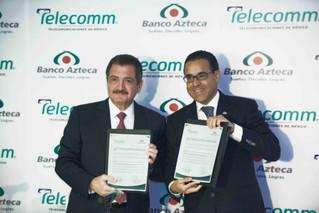 Clientes de Banco Azteca ya podrán pagar sus créditos en las sucursales de Telecomm Telégrafos