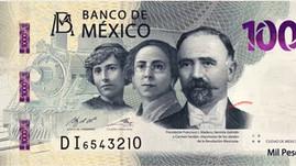 Hermila Galindo, Carmen Serdán y Madero protagonizan el nuevo billete de mil pesos