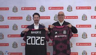 Banorte es el nuevo patrocinador de la selección mexicana de fútbol
