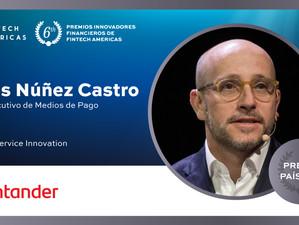 """Fintech Américas premia la """"tarjeta sin números"""" de Santander"""