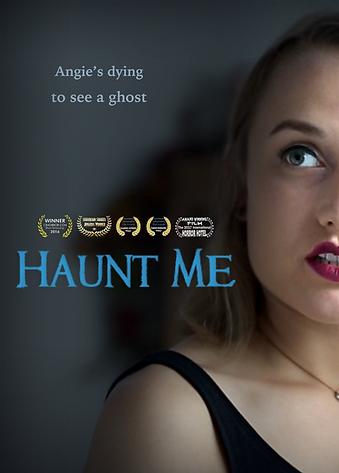 'Haunt Me' short film poster