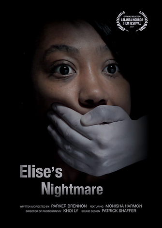 'Elise's Nightmare' short film poster