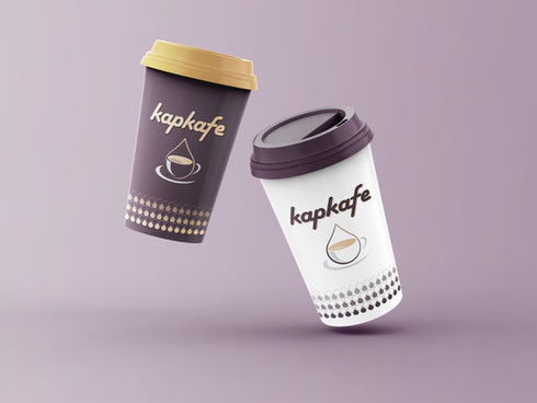 Kapkafe | logo a obalový design