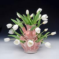 Martha Grover Tulipiere Finger Lakes Pottery Tour
