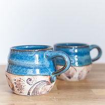 Julia e Dean Shop Finger Lakes Pottery Tour