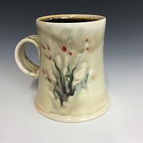 Ed feldman mug Finger Lakes Pottery Tour