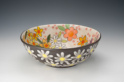Finger Lakes Pottery Tour Colleed McCall Spring Basin Bowl - Colleen McCal