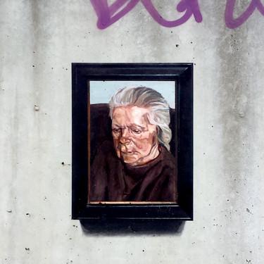 Lucian Freud. Old woman
