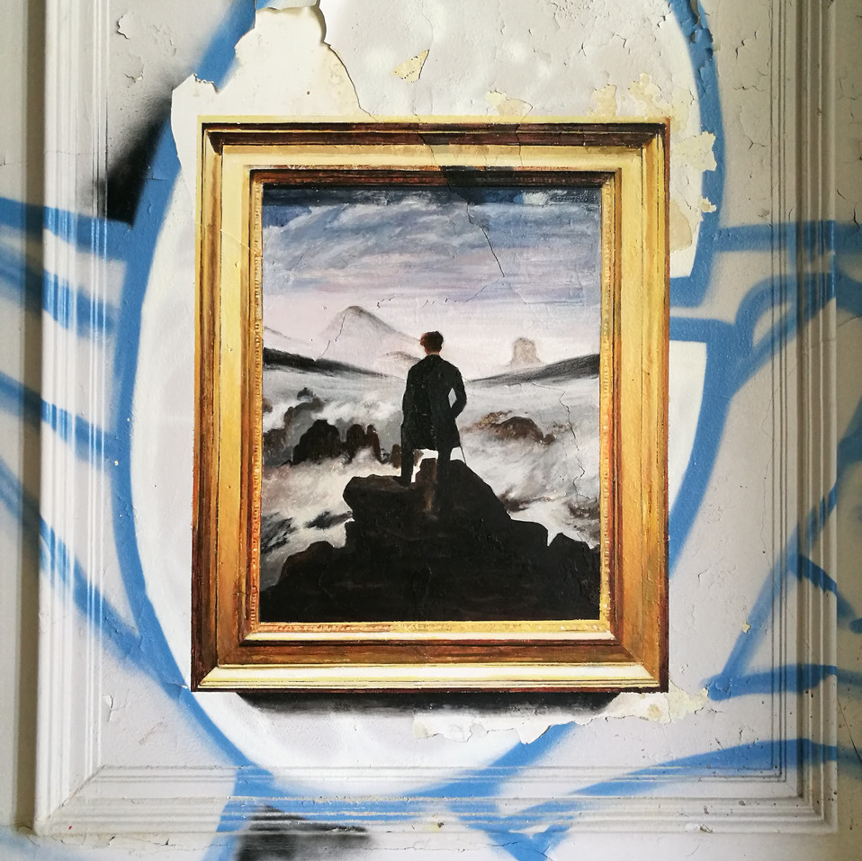 Caspar David Friedrich. The walker above the mists