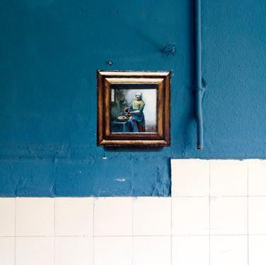 Johannes Vermeer. Milkmaid