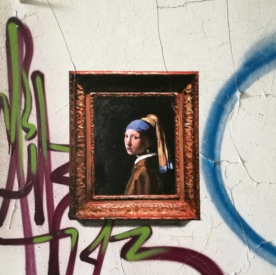 Johannes Vermeer. The girl of the pearl