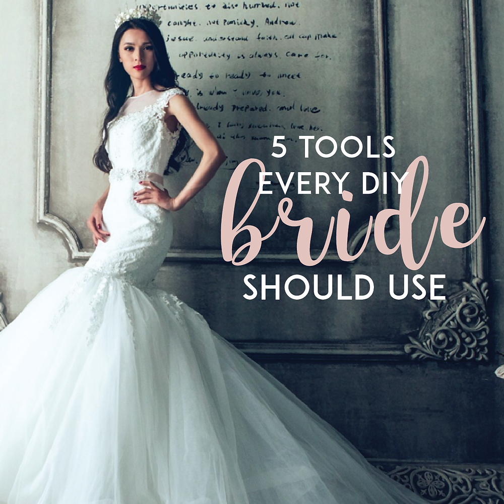 5 Tools Every DIY Bride Should Use