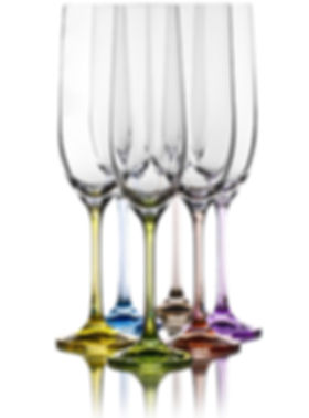 Houston Wedding Planner Champagne Flutes